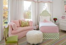 Nursery/toddler girls' room themes
