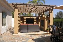 Backyards / Luxury backyard designed and built by Tuscany Builders