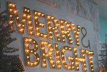 {Merry & Bright} / All things holiday-related!