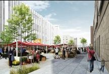 Market square Usti nad Labem / 3rd Prize Competition proposal for the Market square in Usti nad Labem (Czech republic)