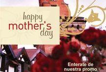 L´Auberge para la Mujer / Cena Especial - 7 de Marzo, Promoción de estadía - Día de la Madre / Women´s Day special night - 7th March, Happy Mother´s Day special promo weekend 8th-10th. May, 2015.