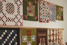 Mini Quilts / Find your inspiration here. Get the perfect fabric at Let's Sew. Phone orders accepted. 812-471-7945.  International shipping available.