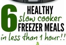 Freezer/Prep/Slowcooker Meals