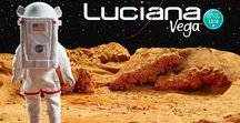 Luciana, Girl of the Year 2018 / I'm Luciana Vega! I know I've got what it takes to be a real astronaut. With creativity, confidence, and a serious science streak, I can launch my dream of landing on Mars. But my teamwork skills still need work. I'll have to learn how to reach others if I want to reach the stars.