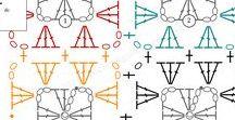 CROCHET_schematy motywy wzory
