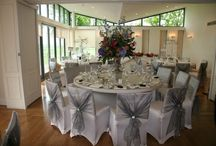 Ballroom Set for Wedding Breakfast / West Tower can accommodate up to 140 guests for your Wedding Breakfast.