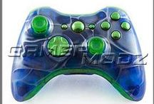 Xbox 360 Custom Modded Controllers / Custom Modded Controllers for Xbox 360 available at GamerModz.com! / by GamerModz