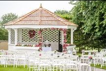 Outdoor Wedding Ceremonies at West Tower / You can have your wedding in out beautiful Pagoda 1st April - 30th September.
