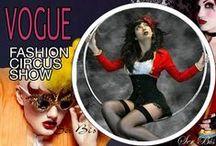 VG-Fashion Circus Show / Circus inspired