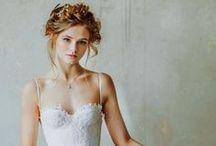 Wedding inspiration / wedding dress, style, decor, rings, flowers