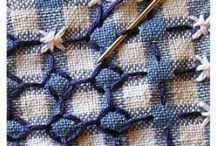 cross stitch-ebroidered