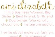 Ami Elizabeth . COM / I'm Ami, Girlfriend, Mum to Florence & Dog Lover. UK Lifestyle, Family & Beauty Blogger. I'd love to hear from you, so if you'd like to get in touch you can email me at amielizabethblog@outlook.com