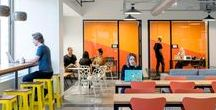 Fun Office & Cowork Space / Colorful Fun Office& Co-working Space
