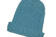 Hand Knit Hats by Twitten / Cool hats that we make!