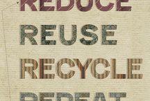 Reciclagem & Sustentabilidade / Reciclagem &Reuso&Reaproveitamento -Sustentabilidade / by Giuliana Mantovi