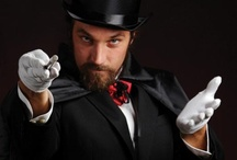 Harry Hou'didme - Murder in Las Vegas / Costume suggestion and character profile for Harry Hou'didme, stage magician from the Murder in Las Vegas murder mystery game.