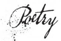 «POETRY~in~motion» / by Weiyen