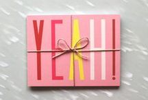 Stationery / Cards, gift wrapping, invitations, business cards etc.