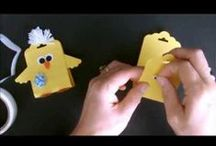 Easter Crafts / Easter candy tree