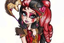 Ever After High art