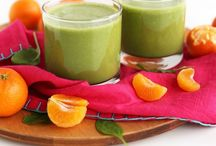 Smoothies & Juices / Healthy smoothies and juice recipes. Healthy recipes. Beverages. Healthy drinks. Wellness.