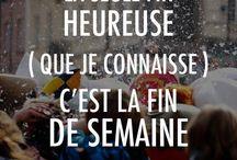 Citations/humour / Rire ou reflechir...