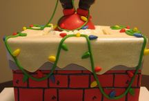 Christmas Cake Design / Design ideas for your Christmas Cake that we particually like !