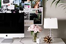 Home Office Nooks / Small, fabulous, useful work spaces in the home.