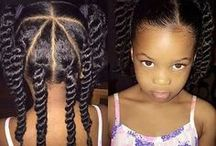 Black Girl Hair / Hair care and protective styles for African American​ girls