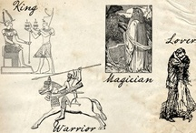 King - Warrior - Magician - Lover  / The four masculine archetypes are within every man and are evidenced throughout history.  The King: Blessing, Affirming, Joy; The Warrior:
