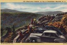 Vintage Parkway Art / Charming images capture the Blue Ridge Parkway's history as a tourist destination
