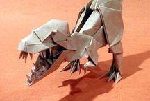 origami dinozauri