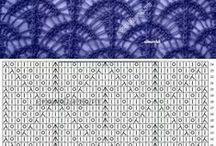 hačkované vzorky - crochet patterns