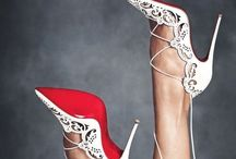Wedding Day Shoes / Whether you love high high heels with or without bling or just want to be comfortable of your wedding day ... here are some of the most stunning wedding shoes out there.