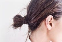 KNOT YOUR AVERAGE BUN / Messy, sleek, up or down, we got it covered.