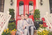 Same Sex / LGBTQ Weddings / Same Sex wedding blog, LGBT wedding invitations, Gay Pride invitations, love wins www.invitationsbyRsquared.com