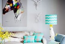 DYH.COM :: Kitsch Interiors / Love it or loathe it Kitsch has entered the design books as an eclectic mess of colours, styles and shapes, which miraculously form a harmony withing their own mismatching nature