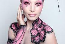 Maquillaje artístico. BODY-PAINT