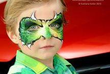 Maquillaje artístico. DRAGONES, MONSTRUOS Y DINOSAURIOS