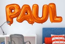 Fun Letters / Spell any word of phrase with these fun letter decals!