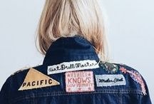 ▲ Patches and pins