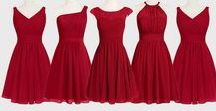 Color: Red Weddings / Ideas for your upcoming red color scheme wedding. The Color Red.