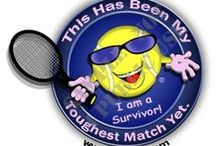 Win the Battle! / Our Line of Breast Cancer Cause Tennis Apparel and Accessories at The Motto Shop http://3rdtoad.com/Shop