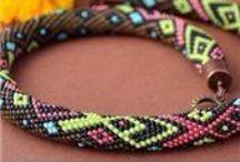 beading // crochet ropes 1