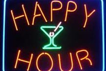 Happy hour. The silver lining. / What a swellegant, elegant  time of day.