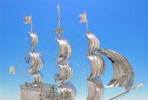 Nautical but nice / Set sail on the silver seas