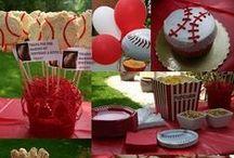 Fussball, Baseball, Sport Party Ideen