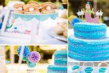 Meerjungfrau, Arielle, Nemo, Fische Party Ideen