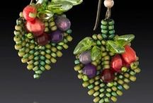 beading // earrings
