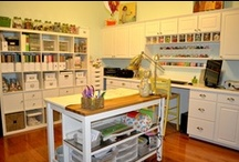 Studios and craft storage / by Anne Hall